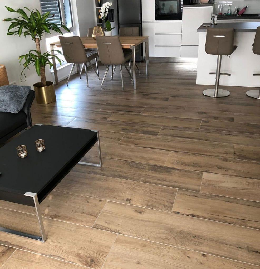 Holzoptik Boden Fliesen